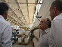 Autoridades del gobierno visitaron el Parque Industrial Olmos