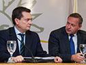 Próximos secretario y subsecretario de la Presidencia, Álvaro Delgado y Rodrigo Ferrés