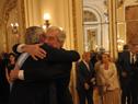 Presidente de la República, Tabaré Vázquez y flamante presidente de Argentina, Alberto Fernández