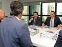 Reunión de transición de representantes del Gobierno en funciones y del electo