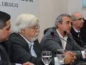Conferencia de prensa tras reunión entre Eduardo Bonomi y Jorge Larrañaga