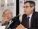 Director de OPP, Álvaro García, dirigiéndose a los presentes