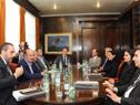 Reunión de transición en el Ministerio de Economía y Finanzas