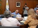 José Ignacio Buffa, María Fernanda Maldonado, Carlos María Uriarte y Enzo Benech