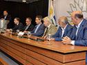 Firma del segundo convenio por participación público-privada de infraestructura educativa