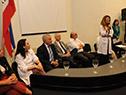 Acto realizado en el anfiteatro, Dr. Mauricio Gajer