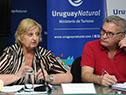 Ministra Liliam Kechichian y Carlos Fagetti