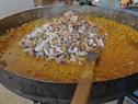 Preparación de paella