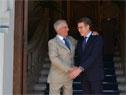 Presidente Tabaré Vázquez recibió a su par de la Xunta de Galicia, Alberto Núñez Feijóo