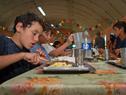 Campamento para escolares en laguna Negra, Rocha
