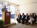 Ministro Ernesto Murro, haciendo uso de la palabra en acto de celebración de reinserción en mercado local y mundial de Gloria Foods del Uruguay