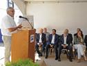 Ministro Enzo Benech, haciendo uso de la palabra en acto de celebración de reinserción en mercado local y mundial de Gloria Foods del Uruguay