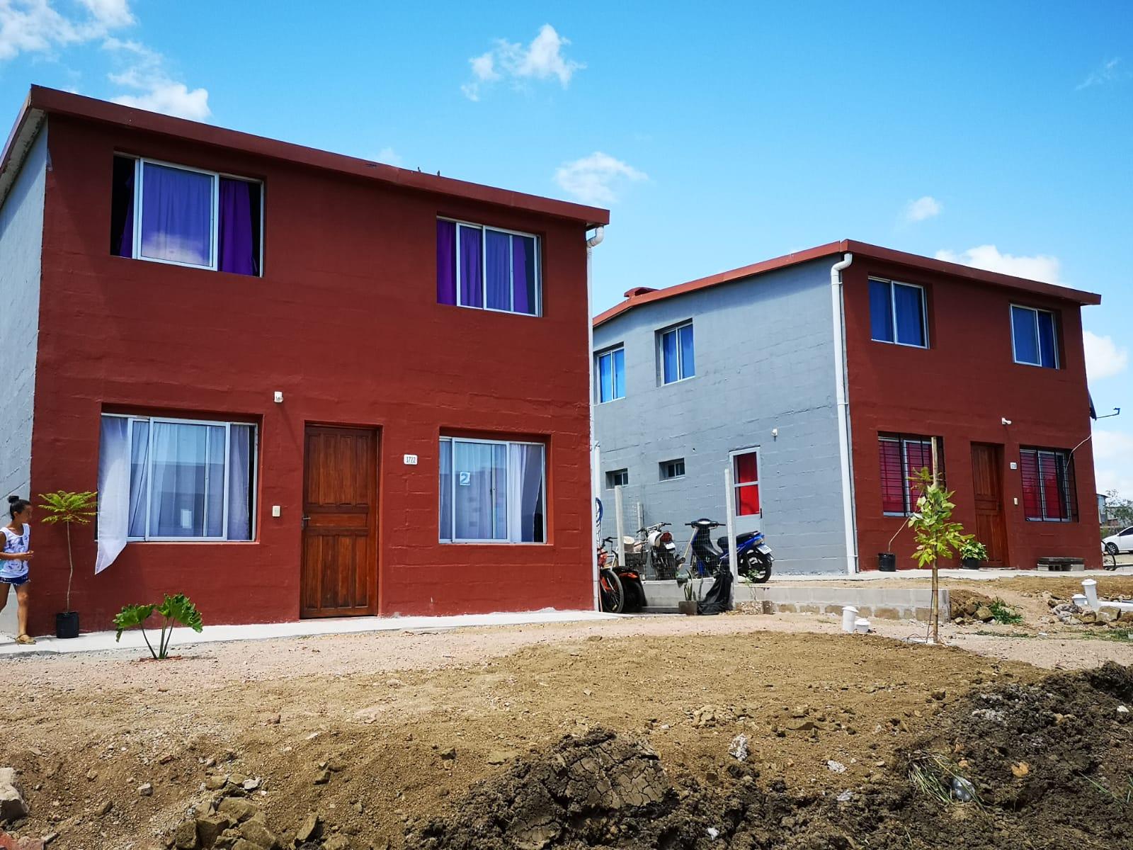 Inauguración de viviendas en Melo, Cerro Largo