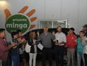 Junta Nacional de Drogas entregó un vehículo para el traslado de las personas que trabajan en el proyecto Minga