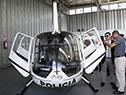 Presentación del cuarto helicóptero de la Dirección General de Aviación de la Policía Nacional