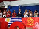 Tabaré Vázquez en la inauguración del 17.º Congreso del Sunca