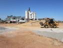Obras en la terminal fluvio-marítima, puerto de Montevideo