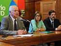 """Ministro de Salud Pública, Jorge Basso, encabezó presentación de herramienta """"Es por aquí"""""""