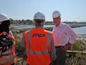 Obras en curso para construir terminal de Capurro