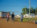 Inauguración de 106 viviendas y saneamiento en localidad de Noblía, Cerro Largo