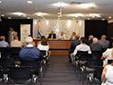 Conferencia del presidente de la Unidad Nacional de Seguridad Vial (Unasev), Fernando Longo