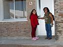 Inauguración de 34 casas en Villa Constitución, Salto