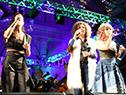 """Espectáculo musical """"Ellas"""", en la estación central General Artigas"""