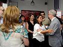 Tabaré Vázquez es recibido en Asociación de Funcionarios de Asociación Española (AFAE)