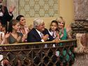 Familiares del presidente Luis Lacalle Pou