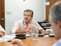 Reunión del Gabinete Agropecuario, encabezado por el ministro Carlos María Uriarte