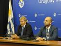 Secretario nacional del Deporte, Sebastián Bauzá, y Gerardo Lorente, gerente nacional del Deporte