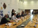 Presidente de la República, Luis Lacalle Pou, encabezó reunión con autoridades del Sinae y Congreso de Intendentes