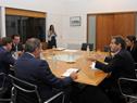 Presidente Luis Lacalle Pou encabezó reunión con titulares del Ministerio de Relaciones Exteriores, secretario y prosecretario de Presidencia