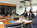 Presidente Luis Lacalle Pou encabezó reunión con titulares del Ministerio de Ganadería, secretario y prosecretario de Presidencia