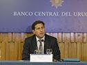 Ceremonia de asunción del presidente del Banco Central del Uruguay (BCU), Diego Labat