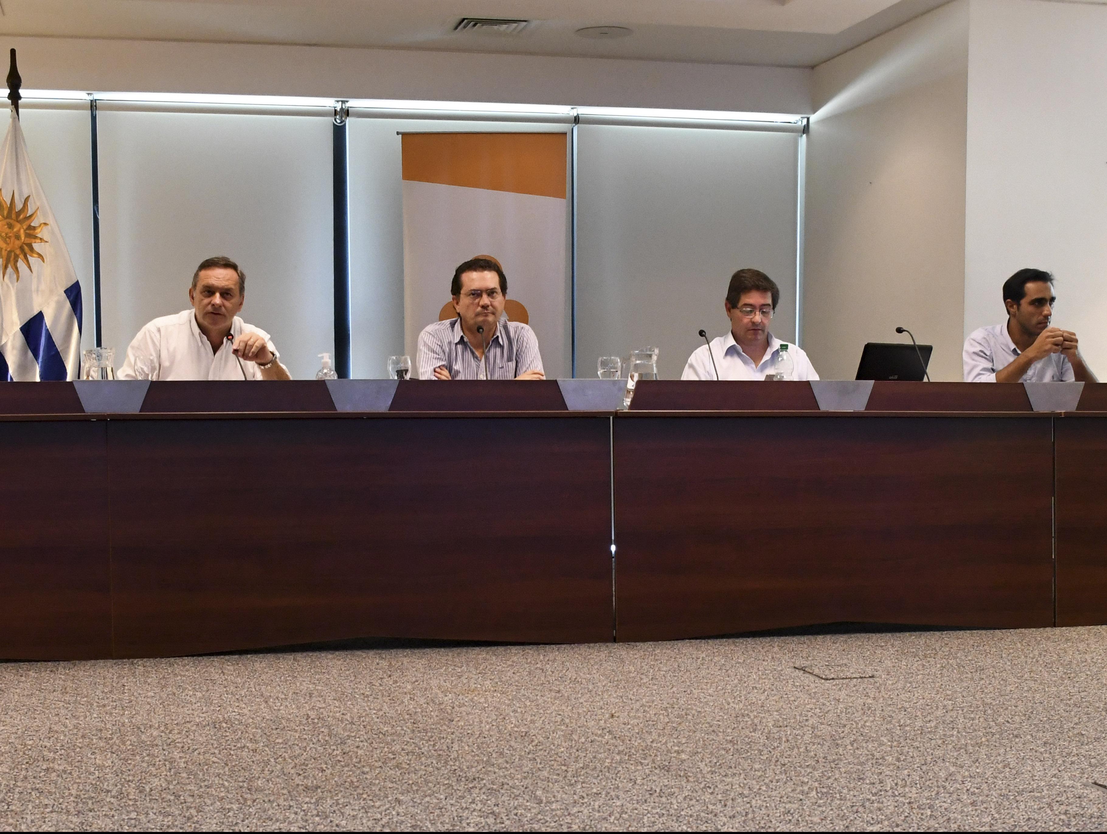 Autoridades durante videoconferencia con Comités Departamentales de Emergencias
