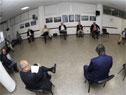 Reunión en el Ministerio de Trabajo y Seguridad Social