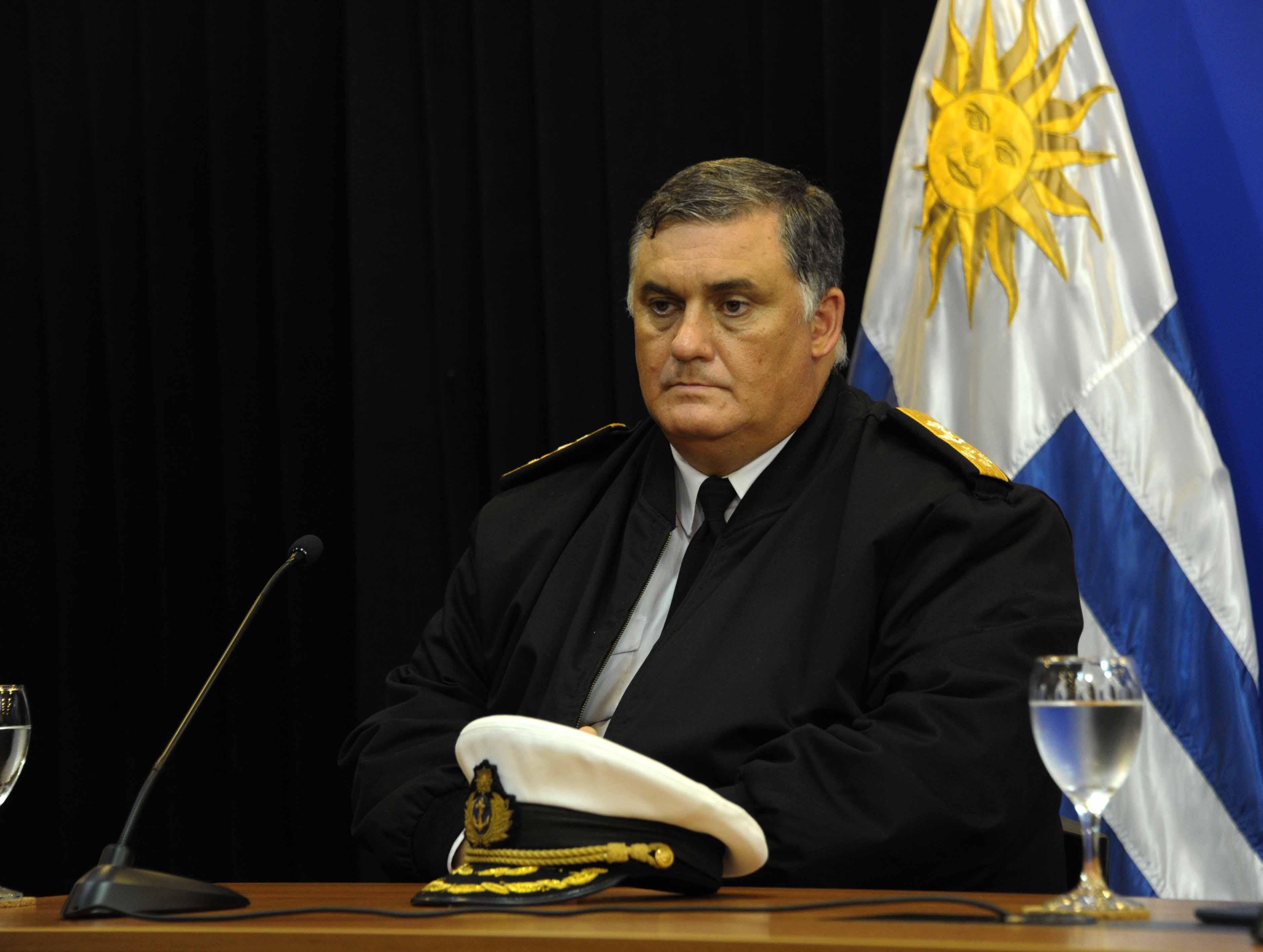 Comandante en jefe de la Armada Nacional, Jorge Wilson