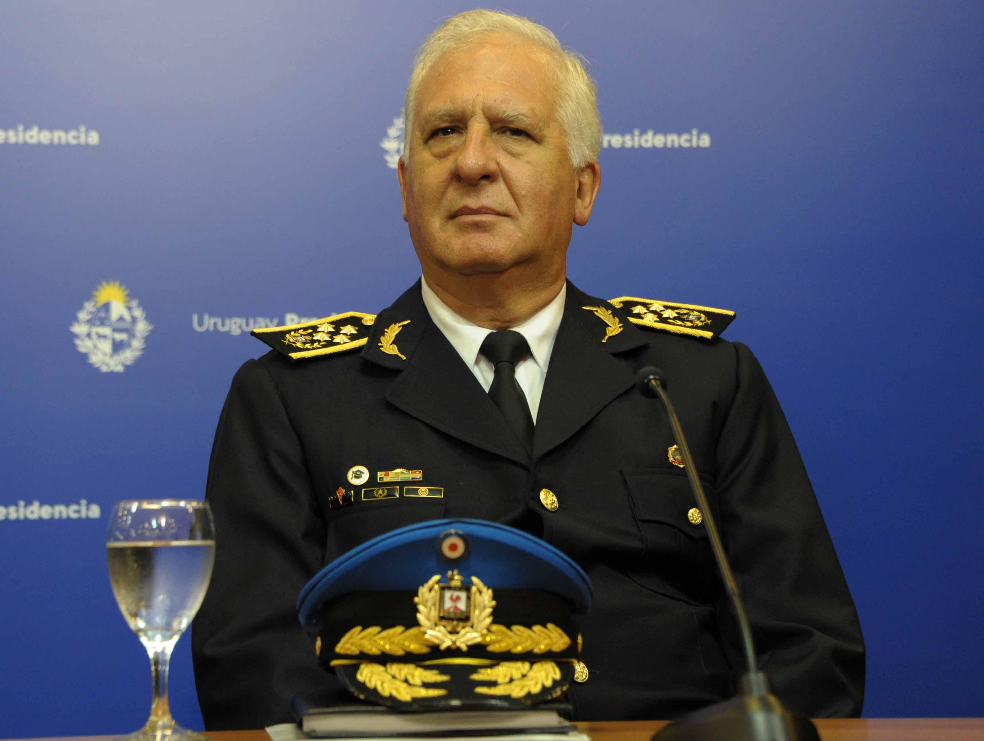 Director de la Policía Nacional, Diego Fernández