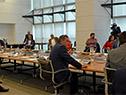 Reunión del Gobierno con representantes de médicos e instituciones de salud, en el piso 11 de la Torre Ejecutiva
