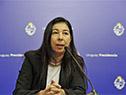 Representante de prestadores integrales de salud privados, Cecilia López