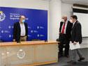 Ministro Pablo Mieres encabezó conferencia de prensa en Ministerio de Trabajo y Seguridad Social