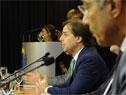Presidente de la República, Luis Lacalle Pou, haciendo uso de la palabra