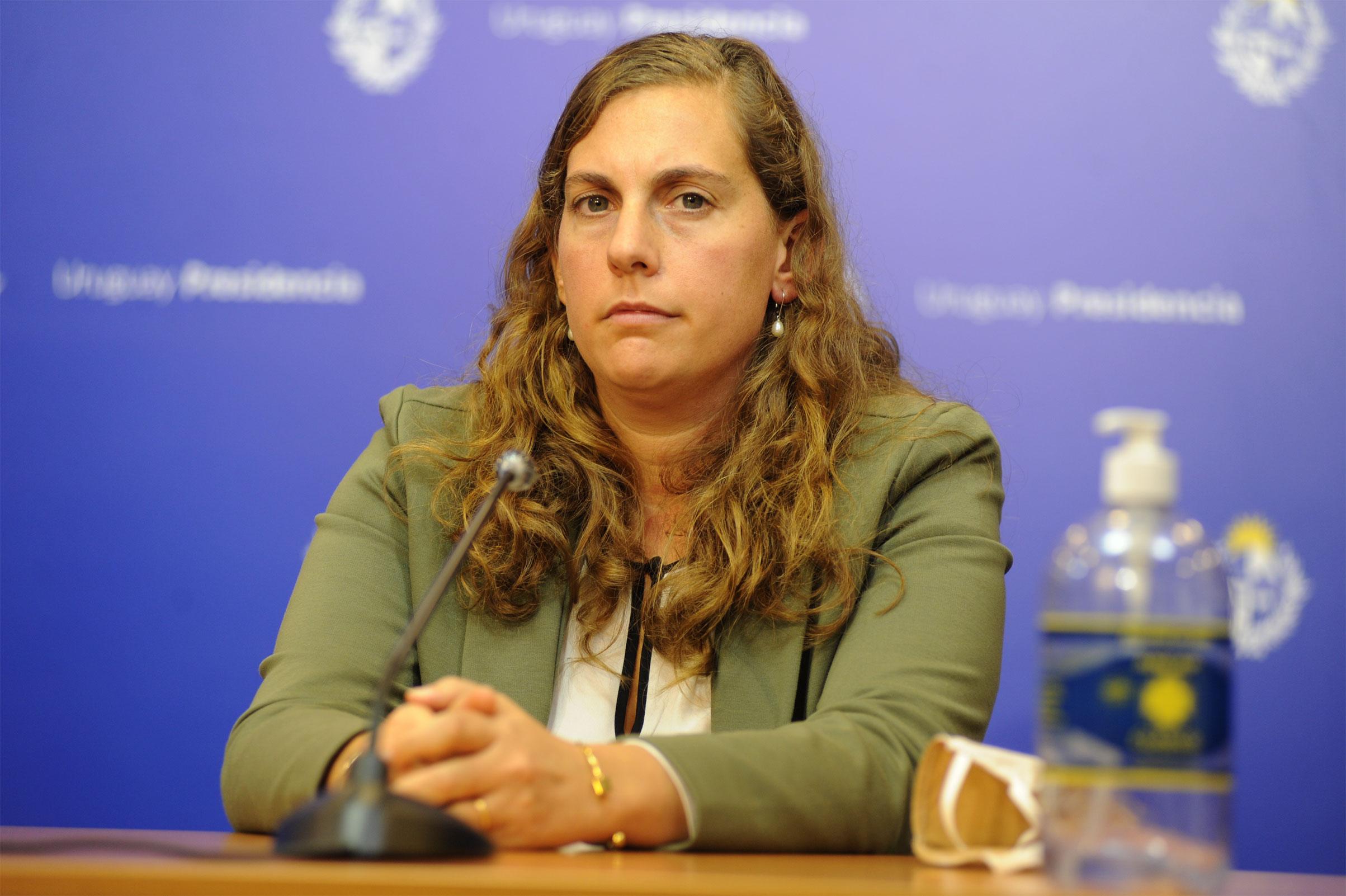 Directora General de Secretaría del Ministerio de Trabajo y Seguridad Social, Valentina Arlegui