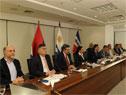 Presidente Luis Lacalle Pou encabezó videoconferencia de prensa para medios del interior del país
