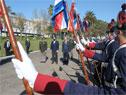 Presidente de la República, Luis Lacalle Pou, encabezó acto por el 209.° aniversario de la Batalla de Las Piedras en el Comando del Ejército Nacional