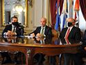 Ministro de Defensa Nacional, Javier García, anunció subasta del avión presidencial