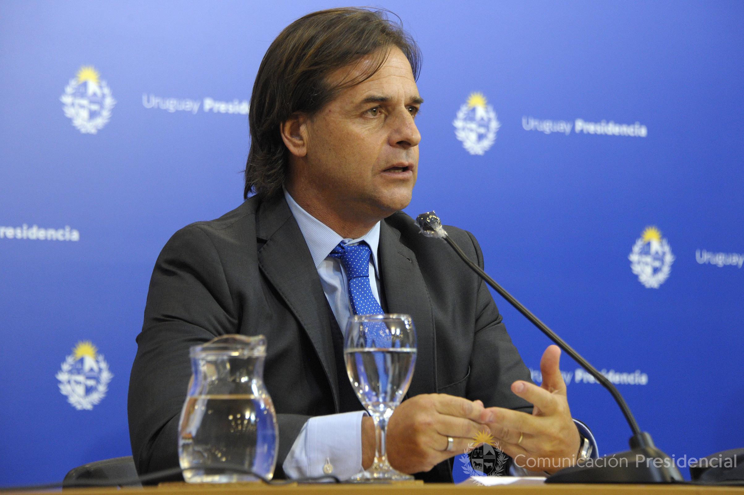 Presidente de la República, Luis Lacalle Pou