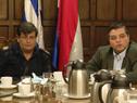 Ministro del Interior, Jorge Larrañaga, encabezó reunión con sindicatos de la salud