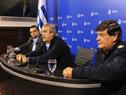 Ministro del Interior, Jorge Larrañaga, encabezó conferencia de prensa